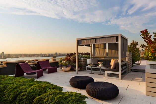 contemporary-penthouse-rooftop-patio-design