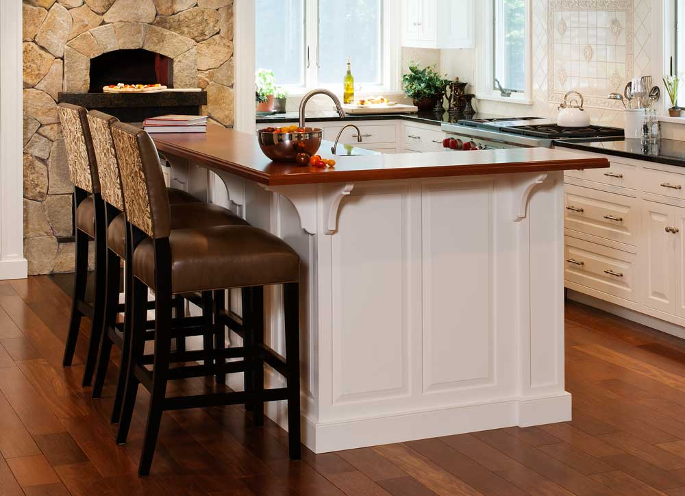 21 splendid kitchen island ideas for Kitchen cabinet with island design
