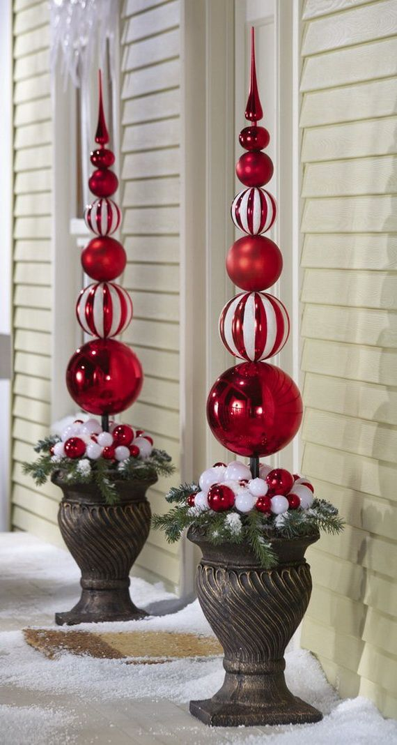 20 Best Outdoor Christmas Decorations on Lawn Decorating Ideas id=73792