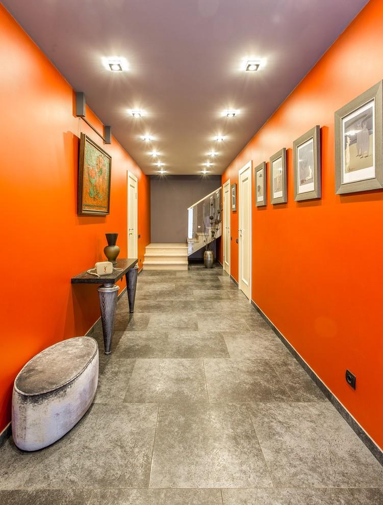 eclectic-hallway-design