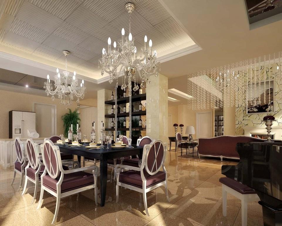 large-lighting-luxurious-dining-room