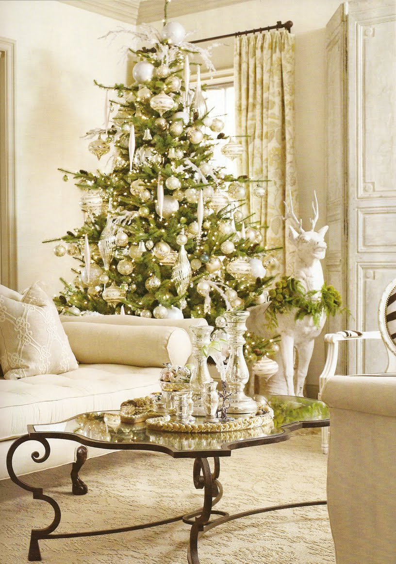 Living Room Christmas Decor 15 Classy Christmas Tree Decorating Ideas