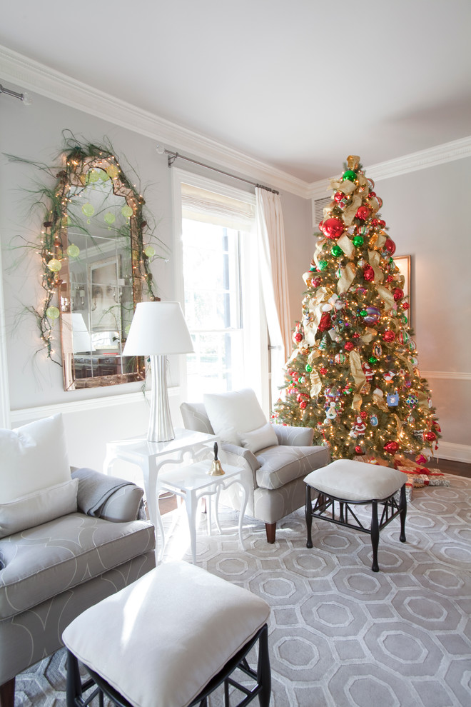 15 best christmas tree decoration ideas Christmas living room ideas