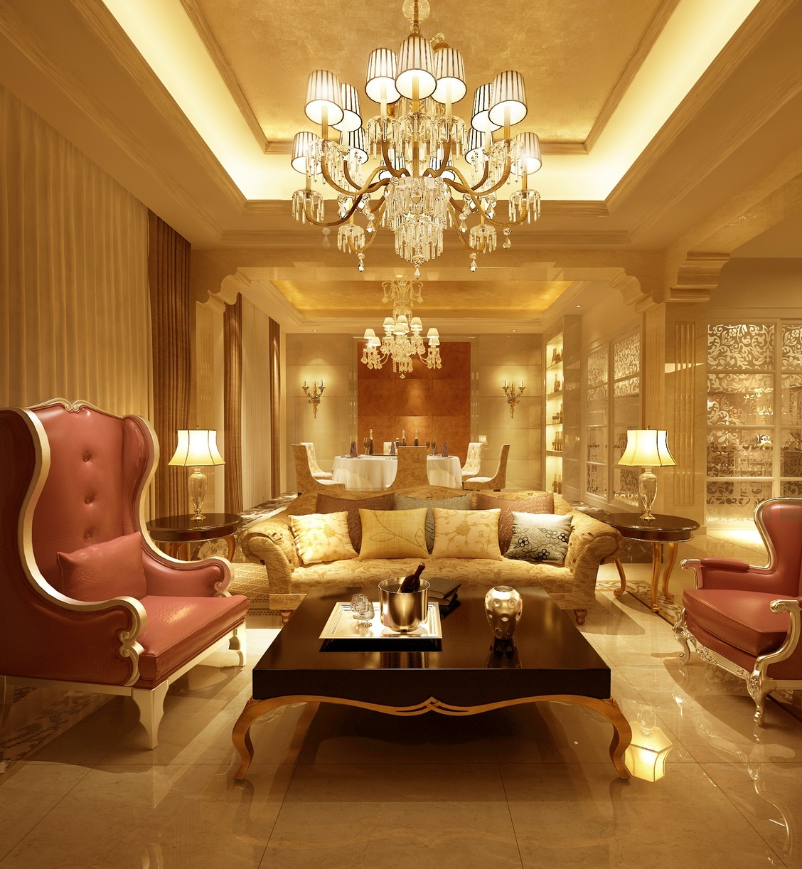 Living Room Luxurious Living Room 30 luxurious living room design ideas 18