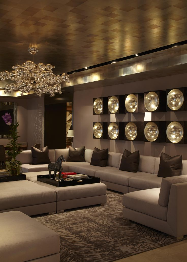 30 luxurious living room design ideas for Luxury home interior design
