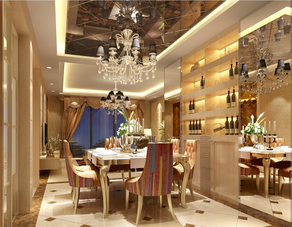 21 luxurious dining room design inspiration for Dining room designs 2018