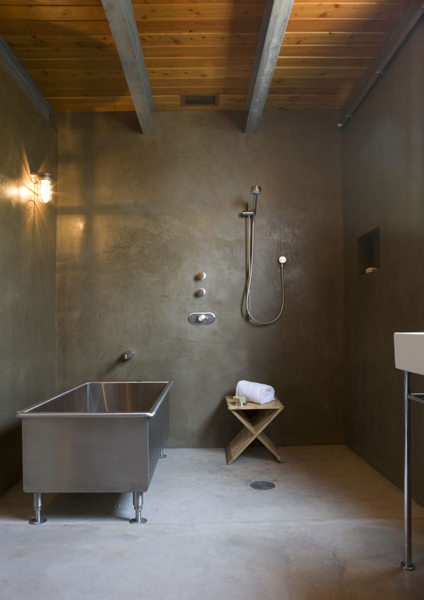 Polished Concrete Bathroom