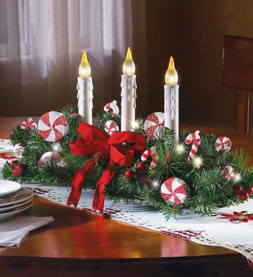100+ [ Easy Christmas Centerpiece Ideas ] | Inexpensive Table ...
