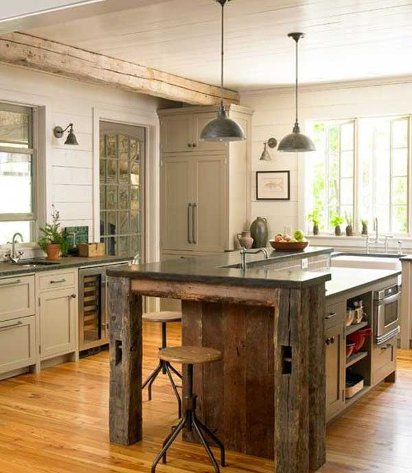 21 splendid kitchen island ideas for Kitchens with islands in the middle