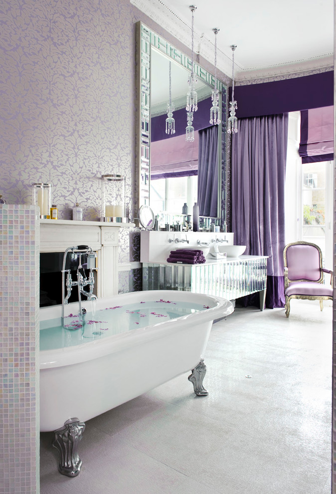 shabby chic style master bathroom. 15 Beautiful Master Bathrooms