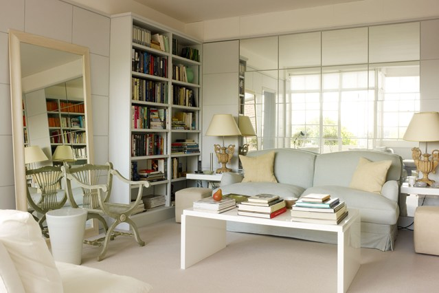 small-living-room-with-mirror-wall