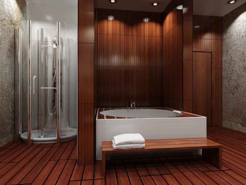 spa-inspired-wood-floor-bathroom