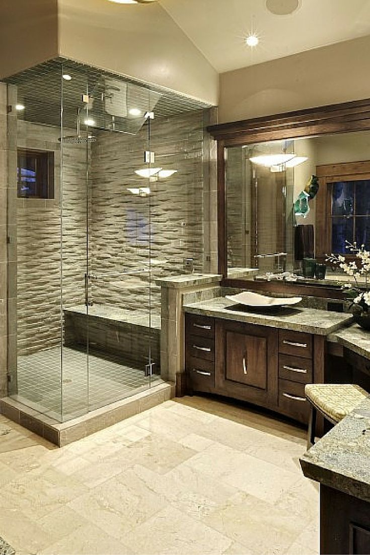 25 extraordinary master bathroom designs for Master bathroom design ideas