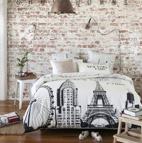 brick-wall-bedroom-wall-decorating-ideas