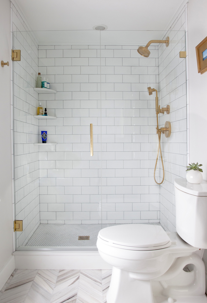 20 stunning small bathroom designs for Small bathroom blueprints