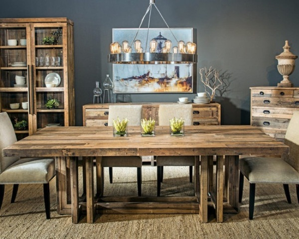 Dining Room Attractive Rustic Kitchen Tables For Modern
