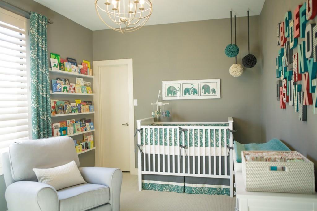 contemporary-style-nursery