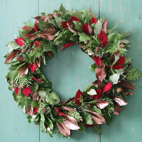 Diy christmas wreath decorating ideas