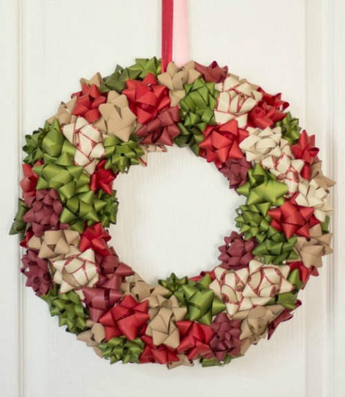 21 diy christmas wreath decorating ideas Simple christmas wreaths
