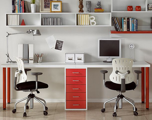 15 amazing home office designs for Inspiring home office ideas