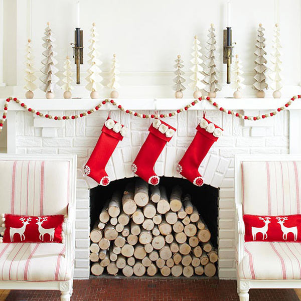 Modern Christmas Decorating Ideas - Christmas room decoration ideas