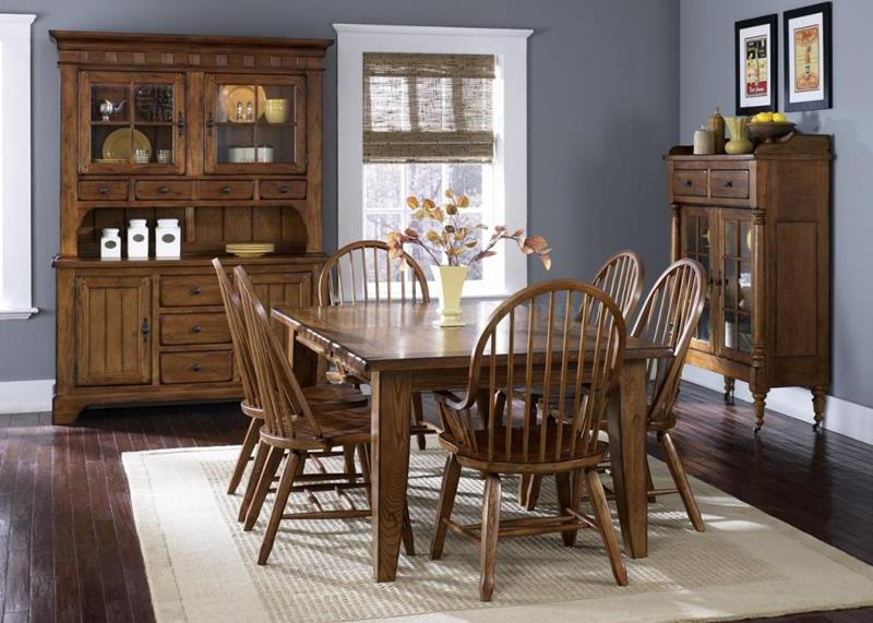 rustic-dining-room-decor