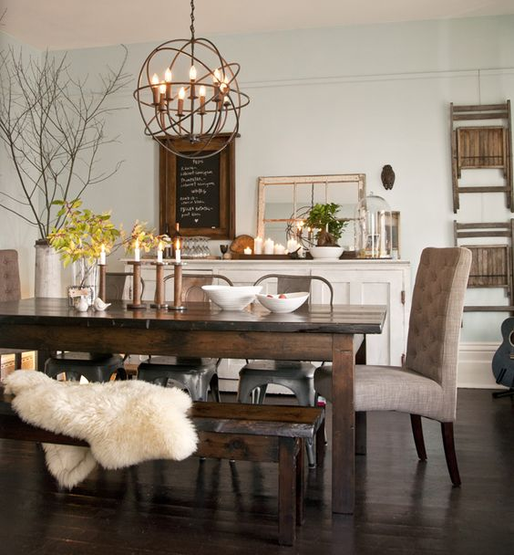 Rustic Dining Room Decor: 15 Fresh Rustic Dining Room Design Ideas