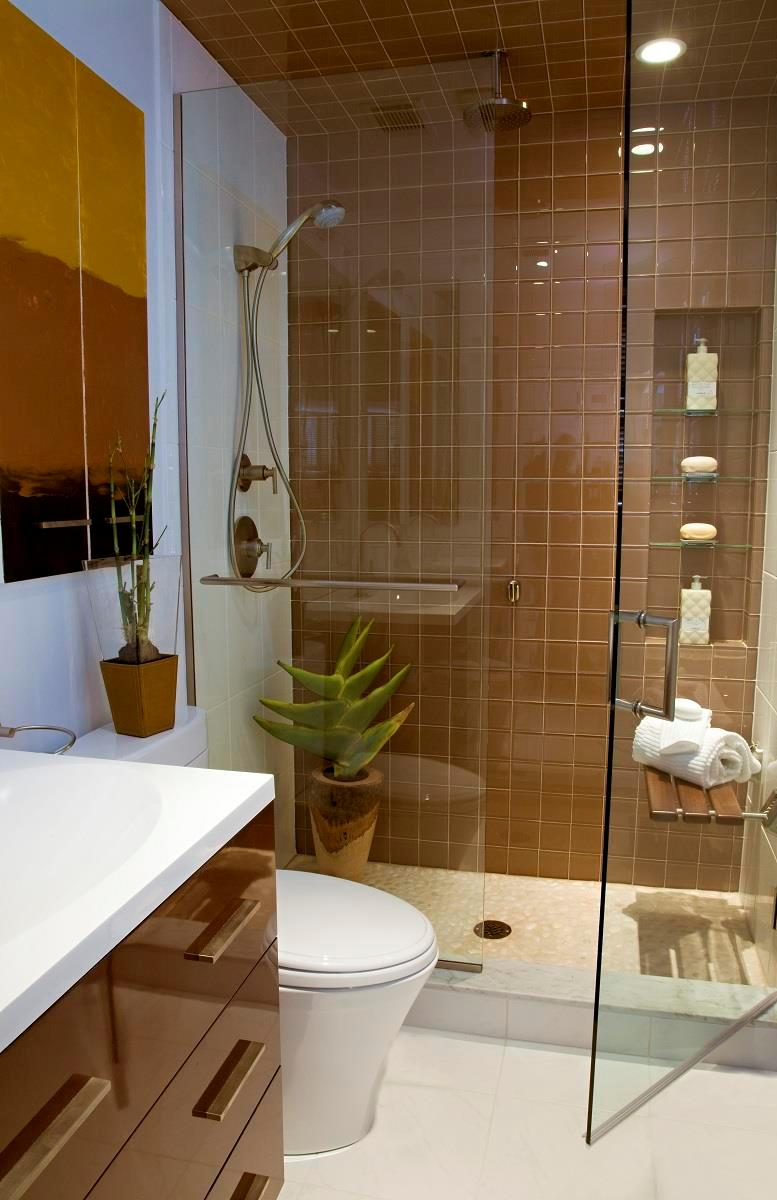 20 stunning small bathroom designs for Bathroom designs simple and small