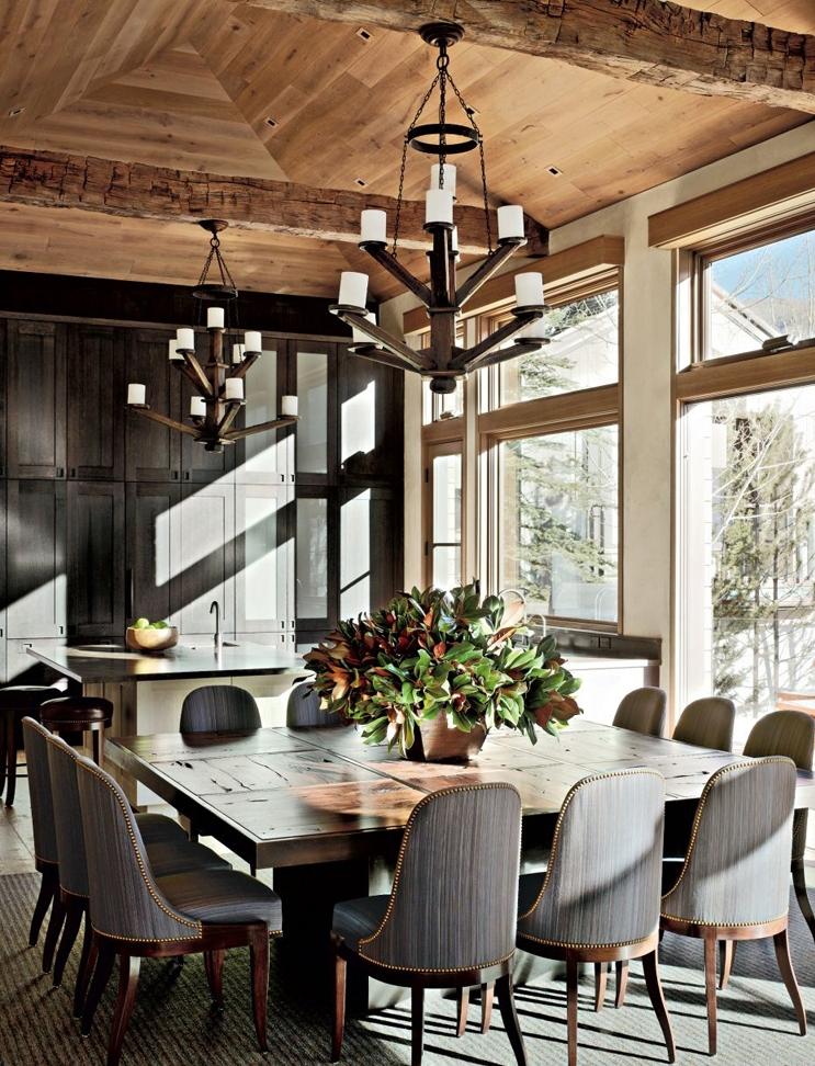 delightful-rustic-dining-room
