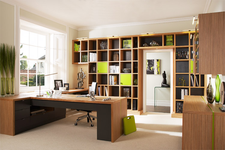 such a sophisticated look of the home office minimalism is the best