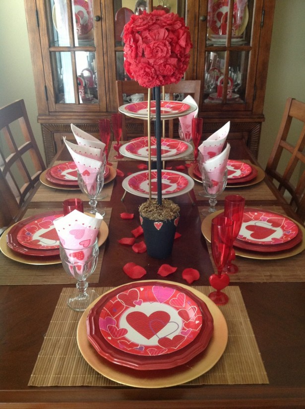Adorable red valentine s day decor ideas