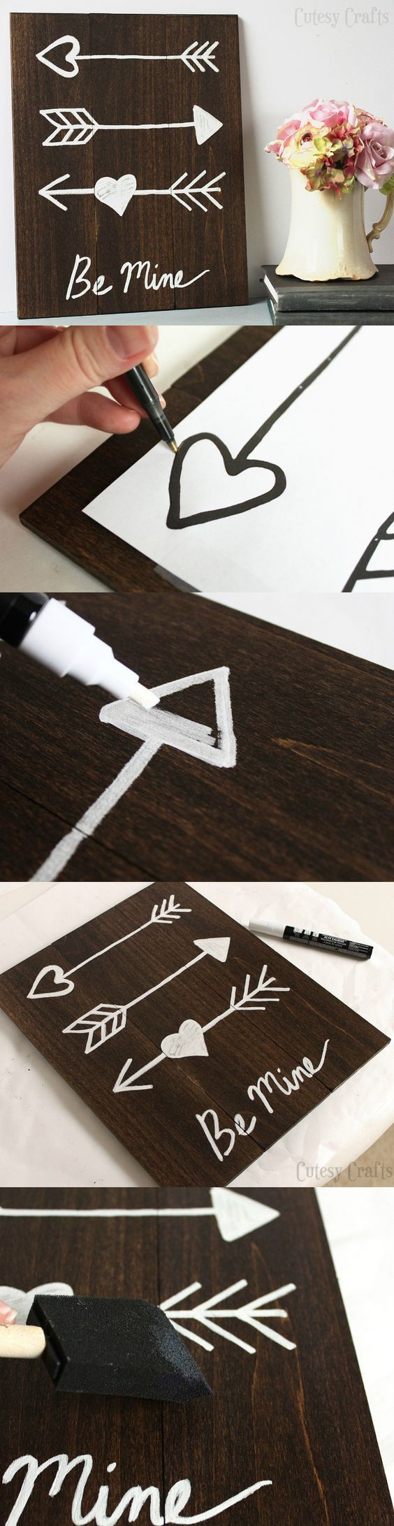 diy-valentines-day-arrow-art