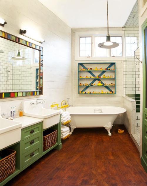 eclectic-bathroom-design