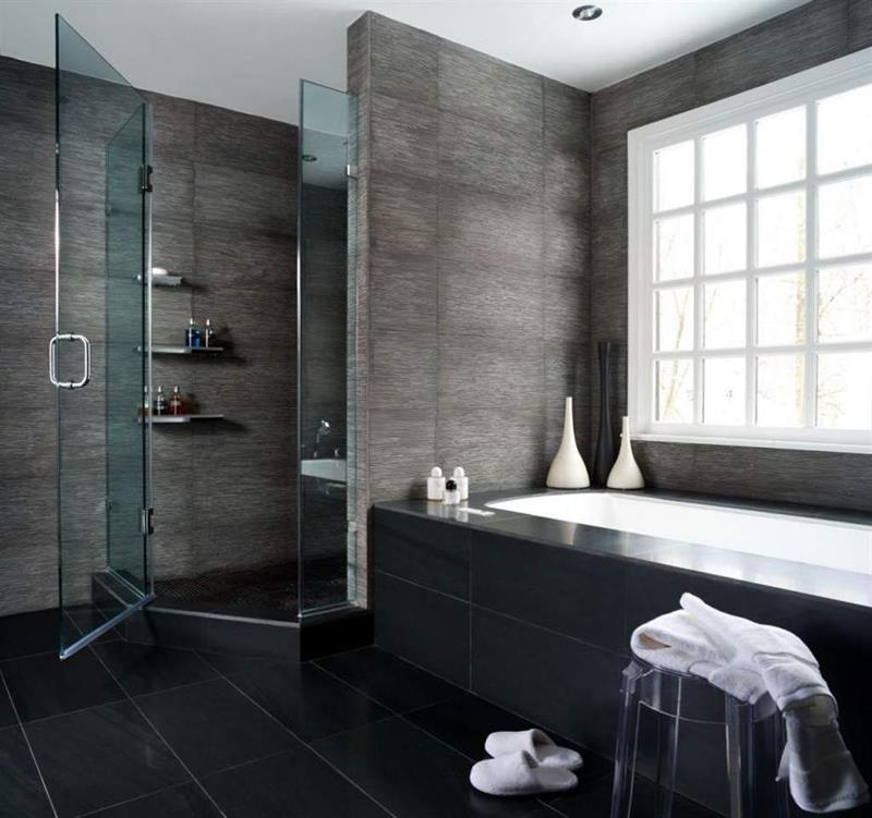 15 Stunning Masculine Bathroom Design Ideas