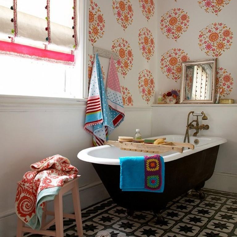stunning-eclectic-bathroom