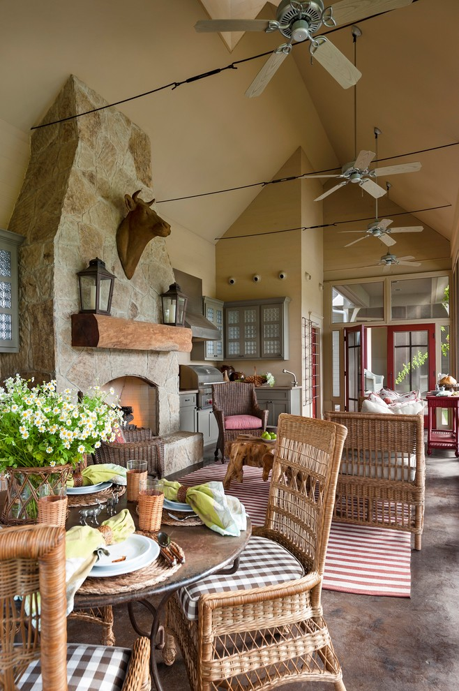 15 Porch Design Ideas With Outdoor Kitchen