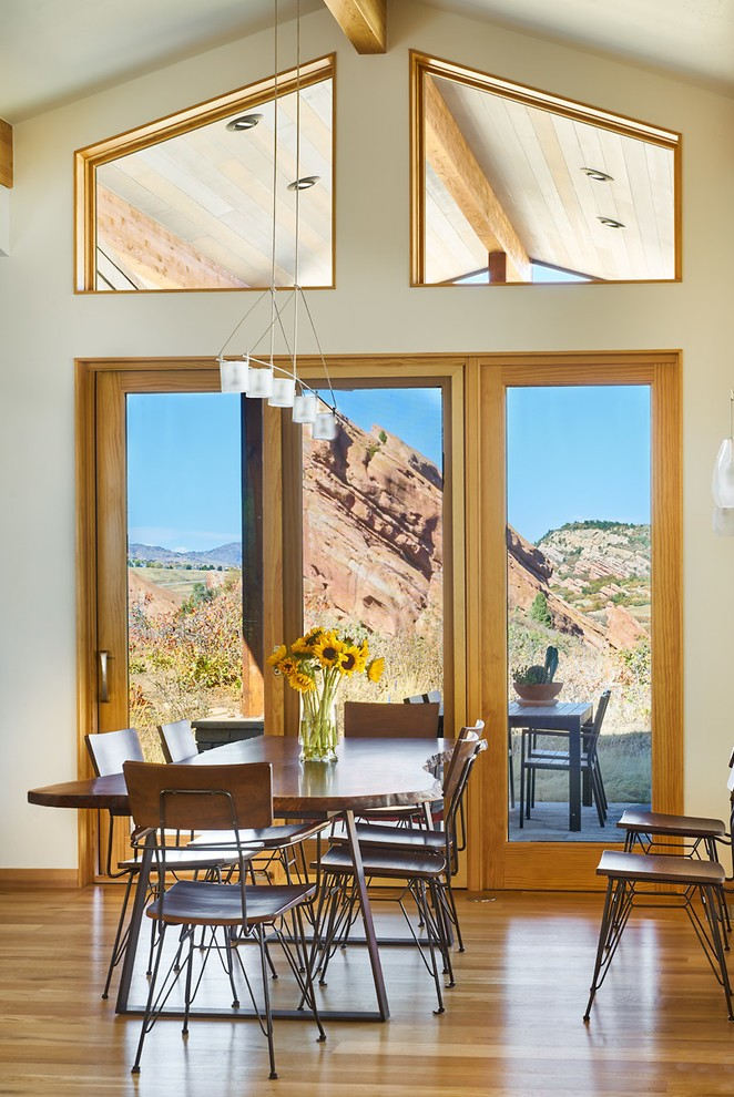 Large Contemporary Dining Room