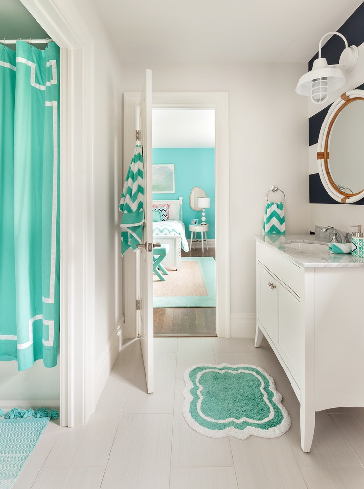 Transitional Kids Bathroom