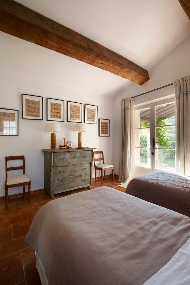 Mediterranean Guest Bedroom