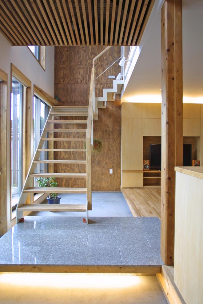 Asian Staircase Design