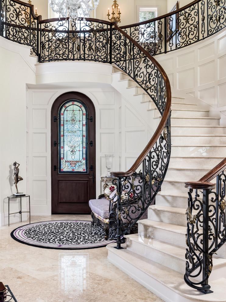 Mediterranean Staircase Design