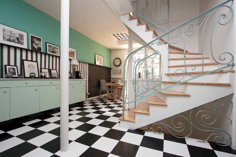 Midcentury Staircase Design