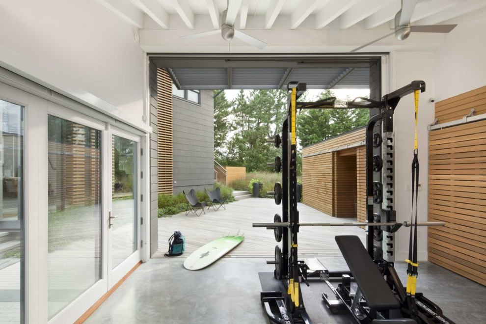 Home Gym Design: 15 Awesome Home Gym Design Ideas