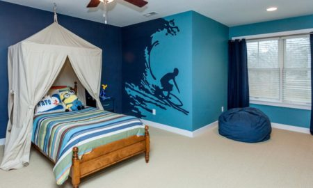Craftsman Kids Bedroom Design