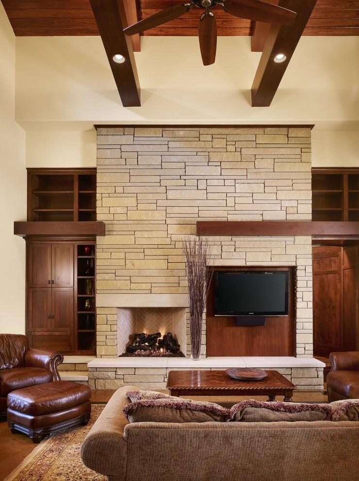 Craftsman Tv Room Design