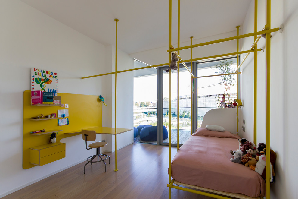 Industrial Colorful Kids Bedroom