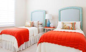 Mediterranean Colorful Kids Bedroom