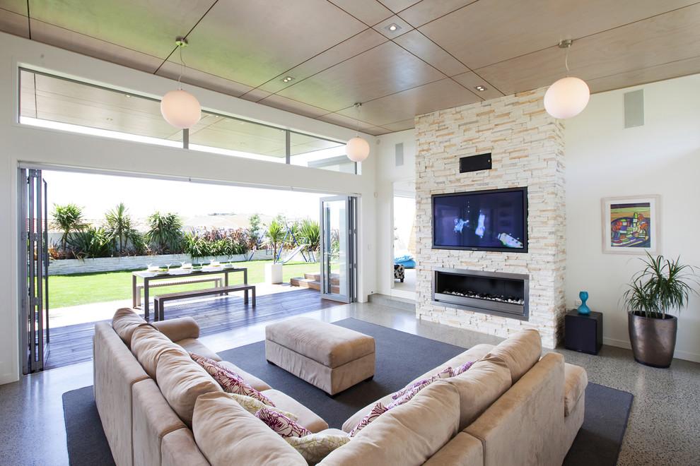 Modern Tv Room Design