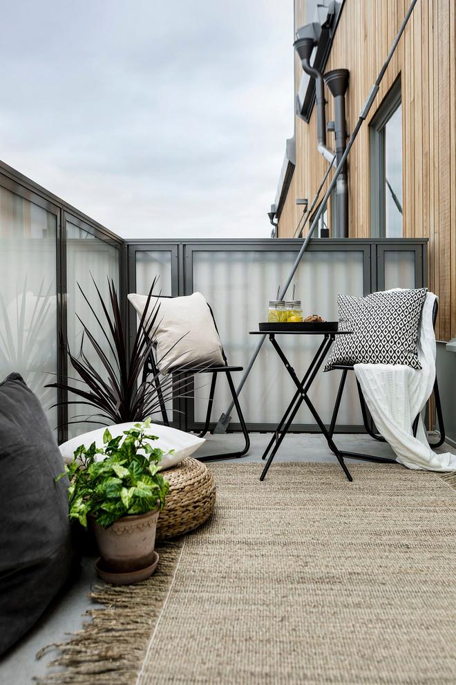 Scandinavian Balcony Design
