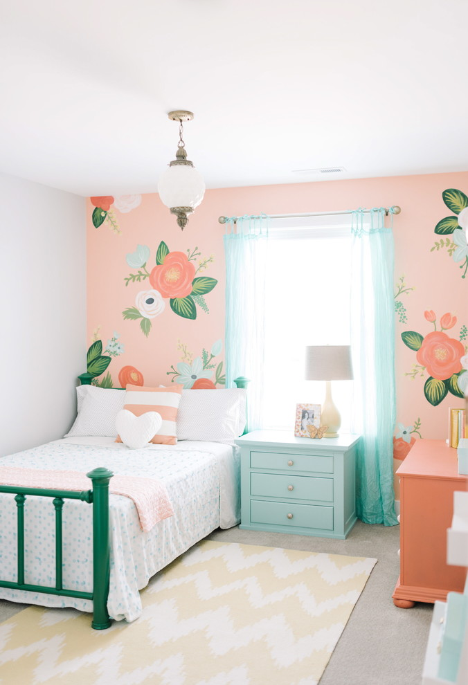 Shabby-Chic Kids Bedroom Design
